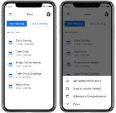 Google meet works on any device. Google Meet For Android Gets A New Ui That Looks Similar To The Gmail Tab Integration Neowin
