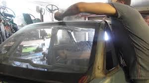 Срезаем вклеенное заднее стекло на ВАЗ 2110 - YouTube
