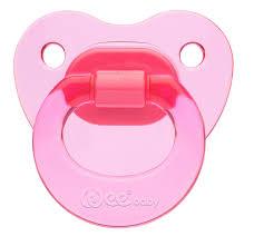 <b>WeeBaby</b> ортодонт. <b>Соска</b>-<b>Пустышка CANDY</b>, от 6 мес., розовая