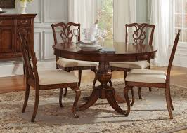 Piece Dining Set Round Table Starrkingschool - Formal round dining room sets