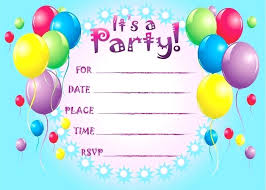 Birthday Invitation Card Maker Free Download Templates Lovely