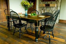 distressed black dining room table. Magnificent Distressed Black Dining Room Table With Custom Wood Tables Handcrafted Farmhouse E