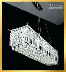 large rectangular crystal chandelier crystal rectangular chandelier medium size of lighting lighting