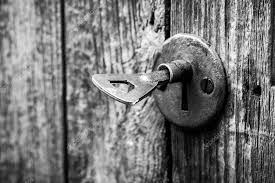 door lock and key black and white. Modren And Closeup Of An Old Keyhole With Key On A Wooden Antique Door U2014 Photo By  REDPIXEL On Door Lock And Key Black White E