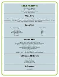 12 free resume samples for high school students hloom first time resume with no experience samples sample high school student resume no experience