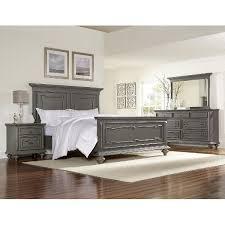 gray bedroom set. asher lane gray 6-piece queen bedroom set b