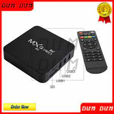 MULTIMEDIA GATEWAY MXQ PRO 5G SMART INTERNET ANDROID TV BOX 4K HD 3356