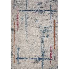 5 x 8 medium ivory teal pink and orange area rug granada rc willey furniture