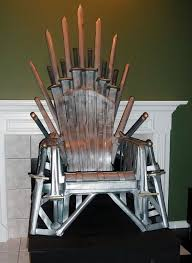 life size iron throne sit in your own iron throne neatorama