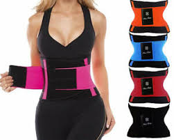 Details About Us Xtreme Power Belt Slimming Fajas Sport Gym Body Shaper Waist Trainer Trimmer