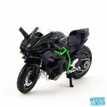 <b>Модель мотоцикла</b> Maisto 1/18, <b>модель игрушек</b> KAWASAKI 2HR ...