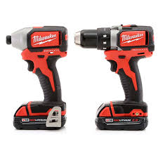 milwaukee combo kit. milwaukee 2798-22ct m18 cordless lithium-ion compact brushless drill and impact driver combo kit 8