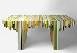 Designer Rabih Hage Uses Leftover Corian to Create Fantastic Furniture