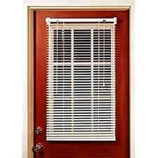half door blinds. Plain Door MagneBlind Magnetic Mini Blinds For Metal Door HalfLength 25 On Half