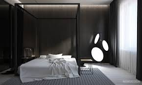 Monochrome Bedroom Design Find Out The An Awesome Minimalist Bedroom Decor Which Embrace A