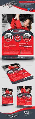 automobile service business flyer by grafilker graphicriver automobile service business flyer corporate flyers