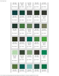Ral Colour Chart Green Ral Colour Chart
