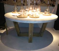 we bought this round table above 60 inches in diameter