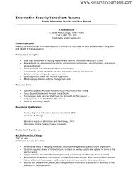 Cyber Security Resume Best Of 27 Information Security Sample Resume