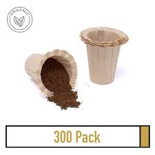 The metal filters, like the kone, are not meant to produce the same profile cup as the chemex filter paper. 300 K Carafe Disposable Single Use Paper Filter Organic And Natural Coffee Filters For Keurig Walmart Com Walmart Com