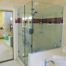 mind while ing a glass shower door