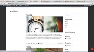 Blog Design Page How To Configure Page Layout Blog Layout And Post Layout