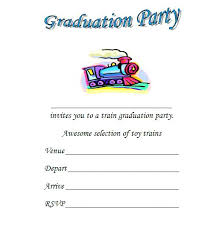 train invitation template free kindergarten graduation invitation template free train invitations