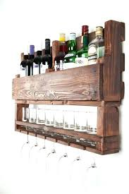 wall mounted wine glass holder wooden rack plans under cabinet wal