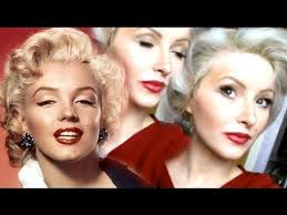 marilyn monroe makeup hair tutorial