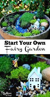 Fairy Garden Pictures Start Your Own Fairy Garden Rhythms Of Play