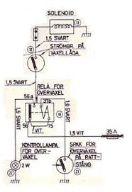 sw em od retrofitting on a vintage volvo Borg Warner Overdrive Wiring Diagram later od control with latching relay in effect from chassis 12501 source (same) '67 factory manual driver control switch 23 is momentary type, r10 borg warner overdrive wiring diagram