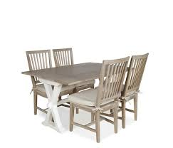 hardware dining table exclusive: hyannis  piece flip top dining set with terrace gray chairs  piece