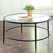 round or square coffee table two tables light wood white glass top circle
