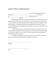 Liability Waiver Form Template Free Accident Waiver And Release Of Liability Form Templates