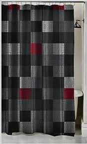 modern grey shower curtain. Red And Grey Shower Curtain Awesome Simple Modern Curtains Fabric Pretty Dark Gray D
