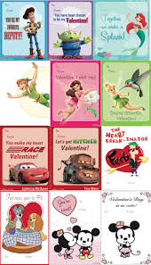 disney valentine s day cards to print. Fine Valentine So Wish I Had Found These 2 Days Ago Free Printable Disney Valentineu0027s  Cards Inside Valentine S Day Cards To Print E