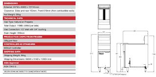 frymaster gas fryer 397mm split pot 2 x 12 5l cooking equipment frymaster gas fryer 397mm split pot 2 x 12 5l