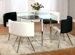 large size of dining room modern glass dinette sets small black glass dining table and chairs