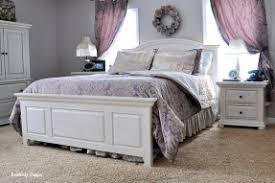 From Knotty Pine To Heavenly White Bedroom Furniture.