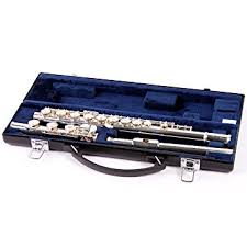 yamaha intermediate flute. yamaha 381 series intermediate flute yfl-381h - b foot 886830104541 d