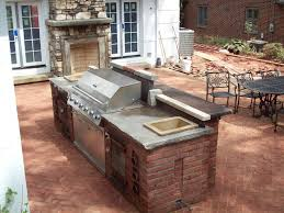 Cinder Block Outdoor Table With Grill And Bar Detail B Q Grills On Category  Doors 3056x2292px