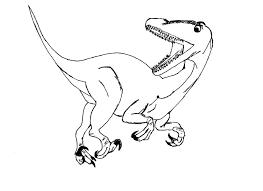 Coloriages De Dinosaures Allosaure A Imprimer Allosaurell L