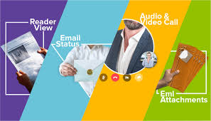 Mailbox with mail indicator Alert Call Your Colleagues From The Mailbox And Draganddrop Your Emails As Attachments Make Emailing Simpler With Zoho Mails Fresh Set Of Features Guimar Zoho Mail Presents Reader View Email Status Indicator And More