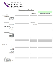 Customer Contact Sheet Template Customer Contact Form Silicon Valley Accounting Solutions
