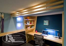 basement office design. Delighful Design Incredible Home Office Ideas For Basement Contemporary  Design Home Office Interior Design  Grezu  Interior Decoration And I