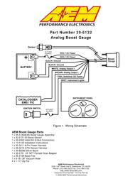 aem analog boost metric gauge 305132m user manual Wiring Diagram For A Aem Boost Gauge Wiring Diagram For A Aem Boost Gauge #29 Defi Boost Gauge Wiring