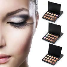 details about 15 colour concealer palette face makeup kit contour foundation highlighter cream