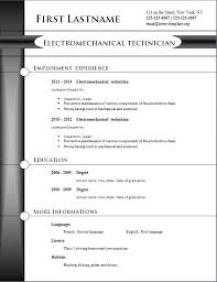 2014 Resume Templates All Best Cv Resume Ideas