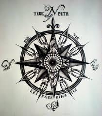 тату компас 100 вариантов для мужчин и девушек фото значение