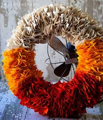initial wreaths for front door30 DIY Fall Wreaths  Autumn Wreaths for Sale